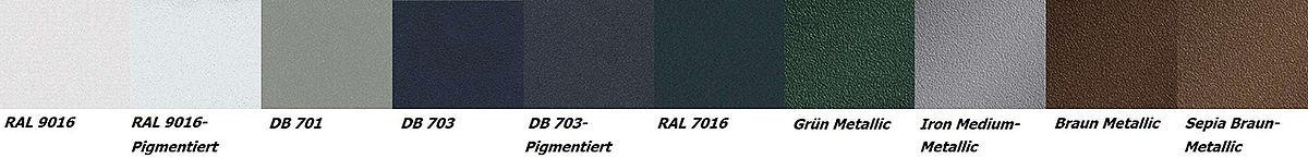 Aluminium-Zaun pulverbeschichtet mit vielen Farben