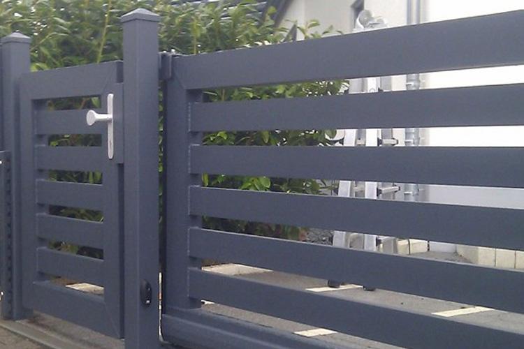 aluminium zaun kaufen die vorteile. Black Bedroom Furniture Sets. Home Design Ideas