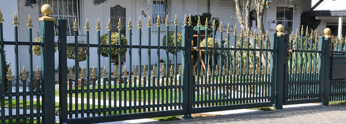 Exclusiv-Zaun - Zäune, Aluminium Gartenzäune, Sichtschutz