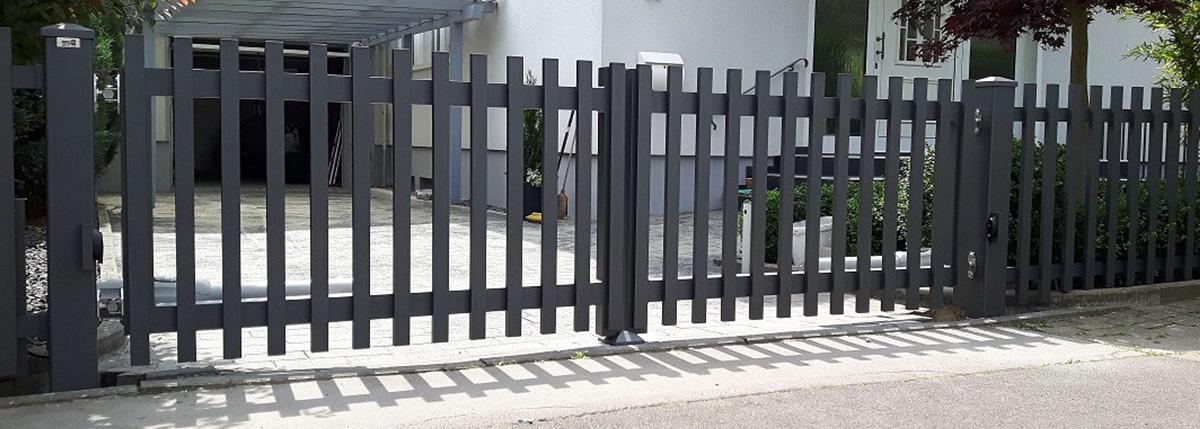 Exclusiv Zaun Zaune Aluminium Gartenzaune Sichtschutz