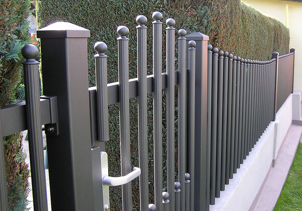 Aluminium Gartenzaun Törchen
